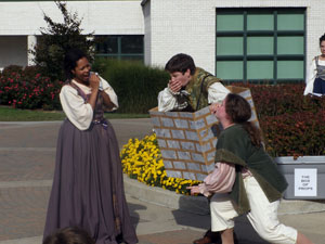 "Pyramus and Thisbe"" Greenshow 2014"